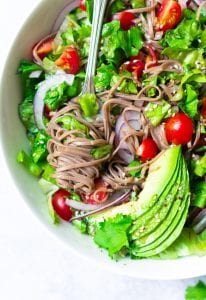 Vegan Soba Noodle Salad