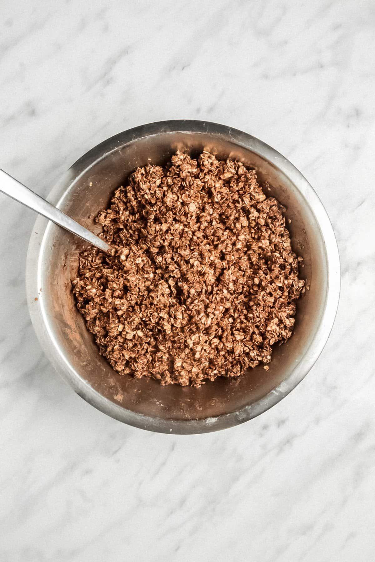 Vegan Homemade Chocolate Granola