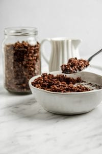 The Best Chocolate Granola Recipe