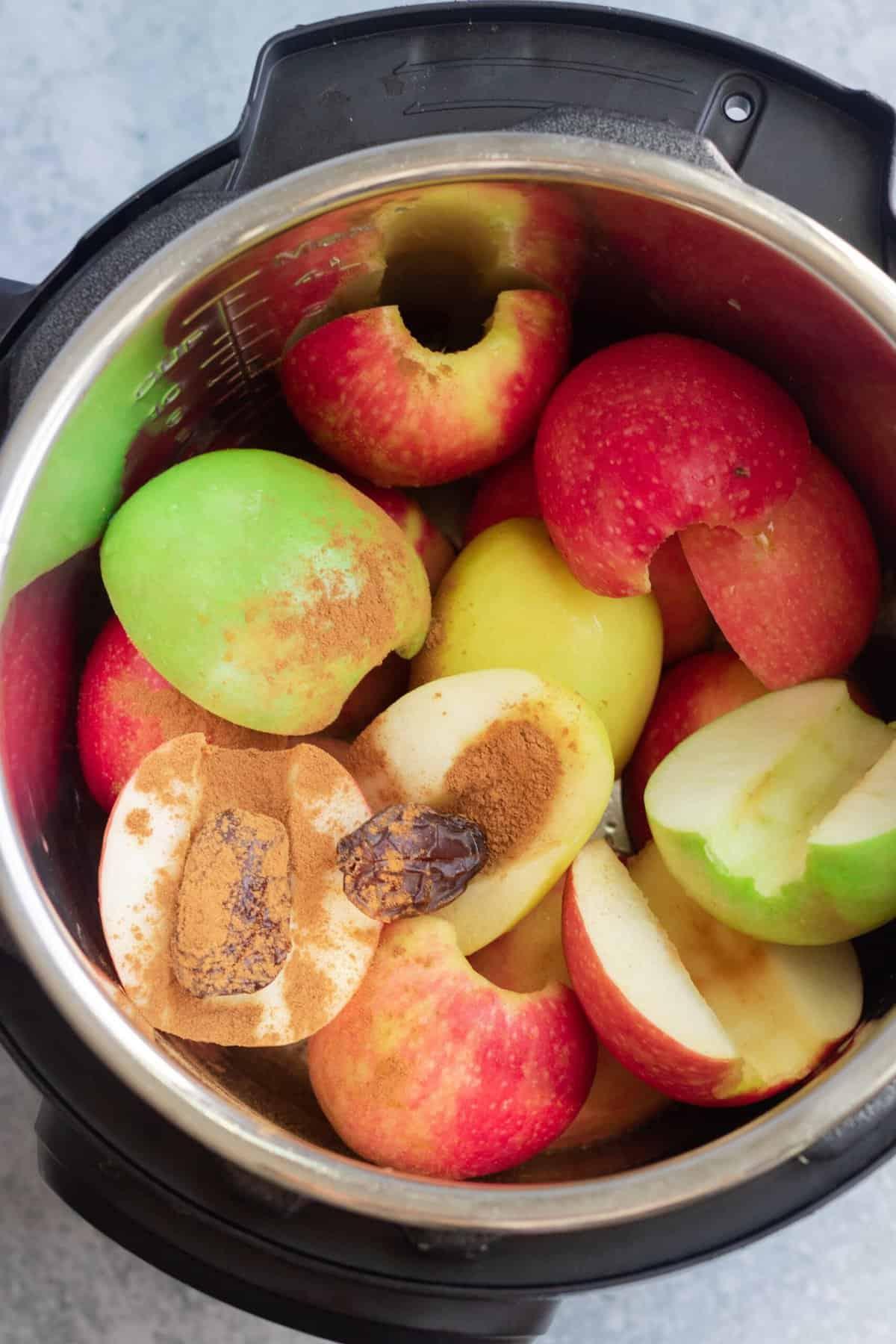 Apples in Instant Pot