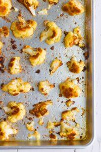 Simple Roasted Cauliflower