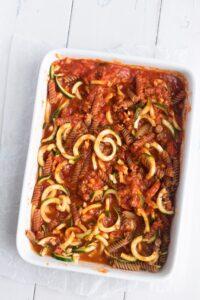 Easy Vegan Pasta Bake