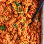 Vegan No-Boil Pasta Bake