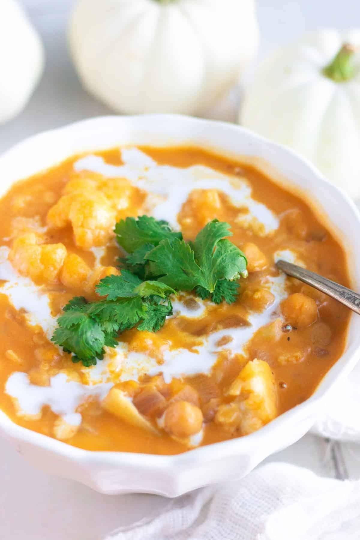 Weeknight Pumpkin Curry