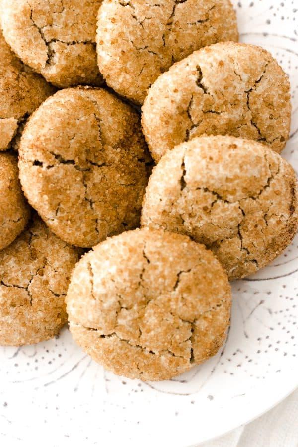 grain-free snickerdoodle cokies