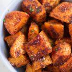 Seasoned Roasted Sweet Potatoes