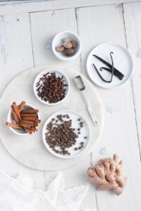 Dairy-Free Gingerbread Steamer