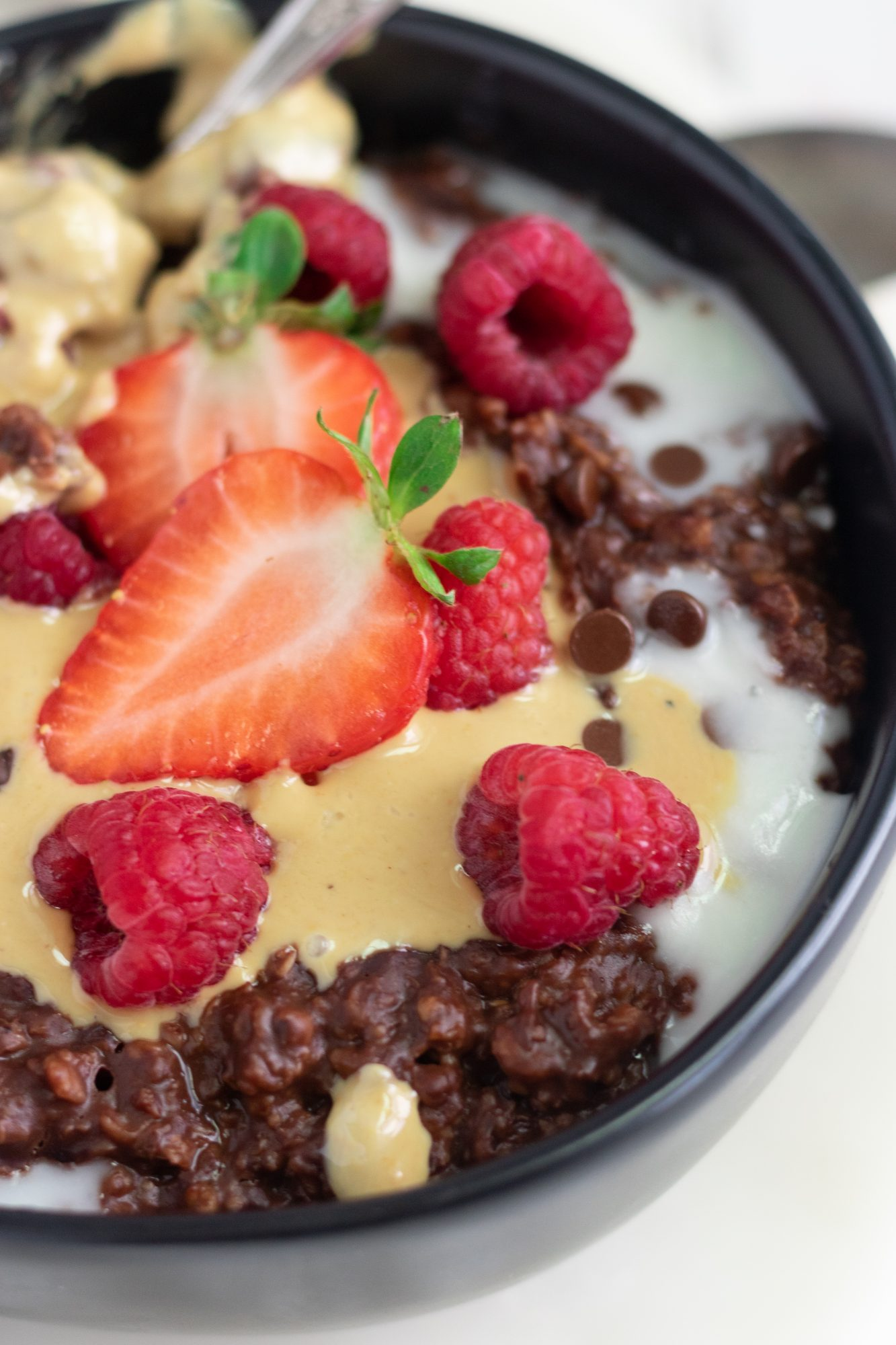 Vegan Chocolate Oatmeal