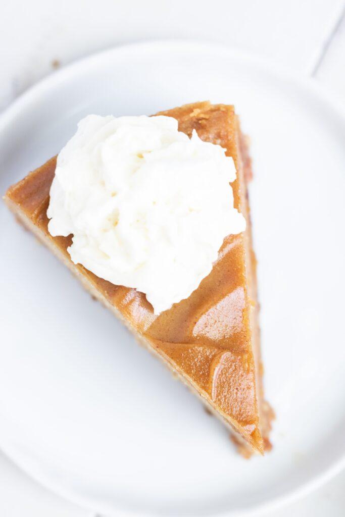 Egg-Free Pumpkin Pie