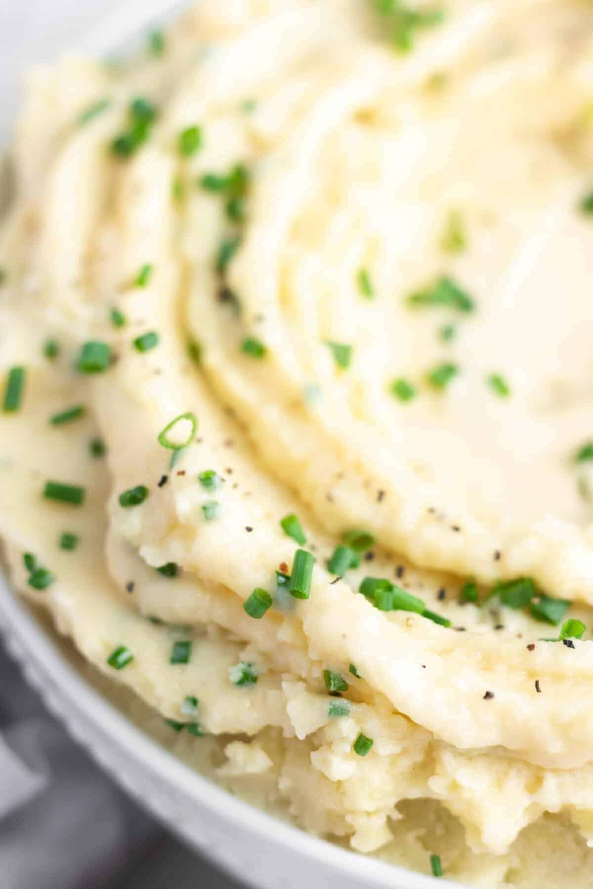 Stovetop Vegan Mashed Potatoes
