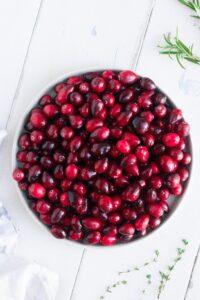 Fresh Cranberries Raw