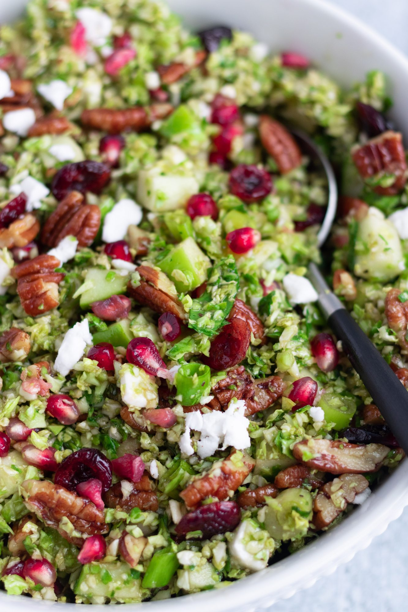 Thanksgiving Brussels Sprouts Salad