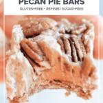 No-Bake Vegan Paleo Pecan Pie Bars