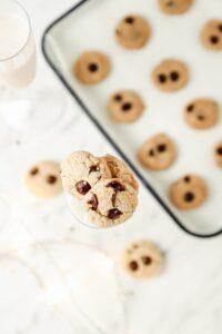 Gluten-Free Cookies & Milk