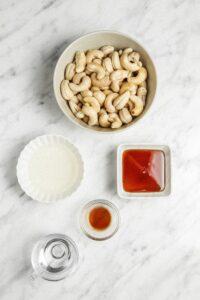 Cashew Icing Ingredients