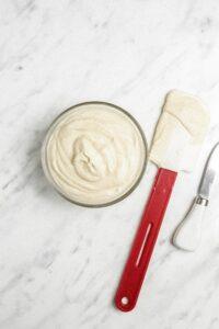 Vegan Cashew Vanilla Icing