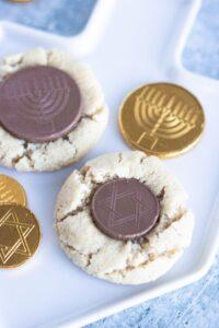 Vegan Gelt Cookies