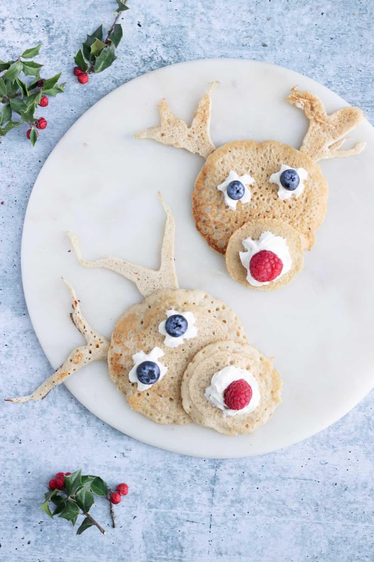 Christmas Pancakes