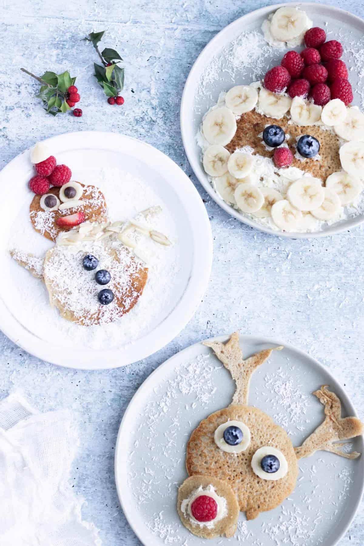 Vegan Christmas Pancakes