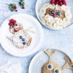 Sugar-Free Christmas Pancakes