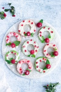 Apple Wreaths