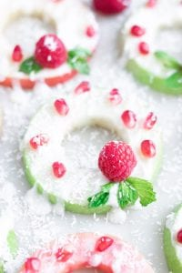 Wreath Apple Rings