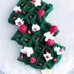 Christmas Tree Waffle