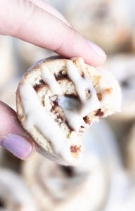 Vegan and Gluten-Free Cinnamon Roll Cookie Recipe
