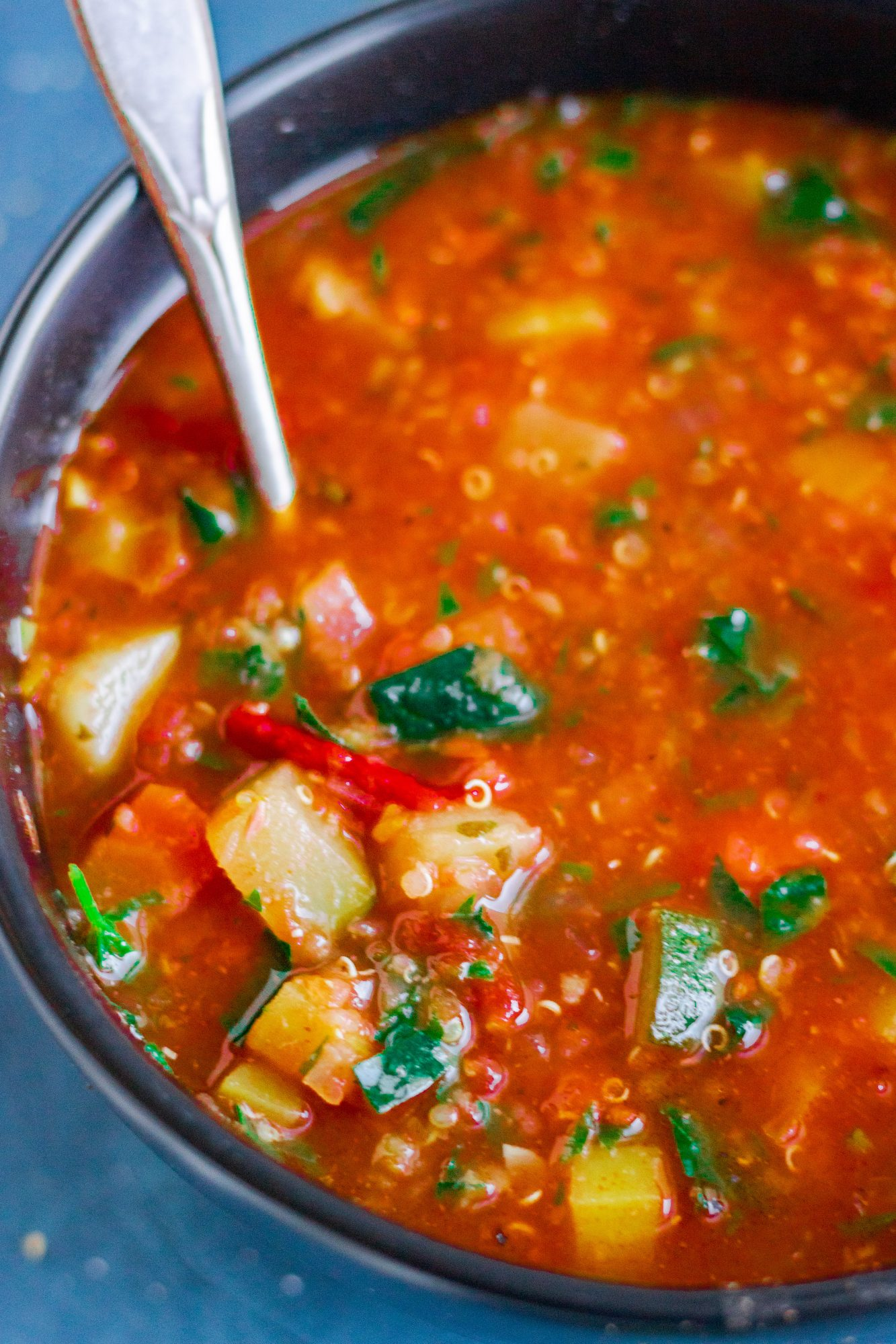 Easy Vegan Minestrone