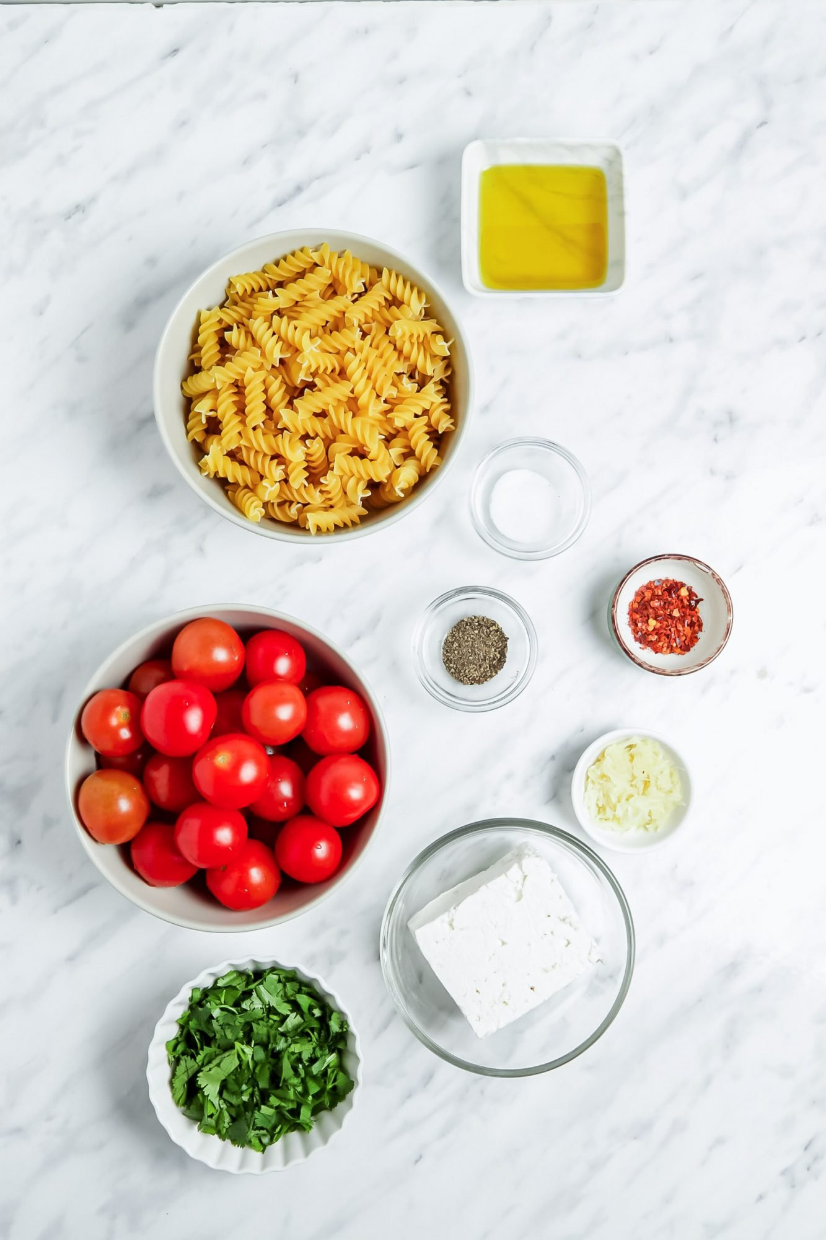 Vegan Feta Pasta Recipe