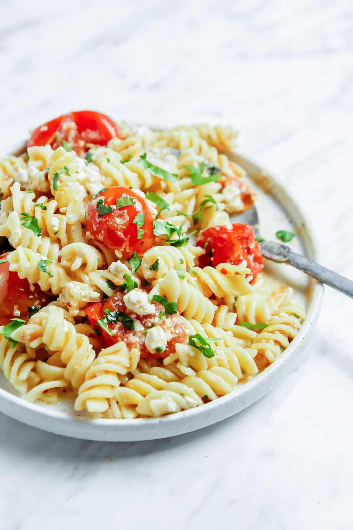 Viral Feta Pasta Recipe