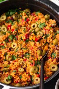 Easy Vegan Spanish Rice