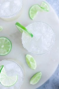 Refined Sugar-Free Margaritas