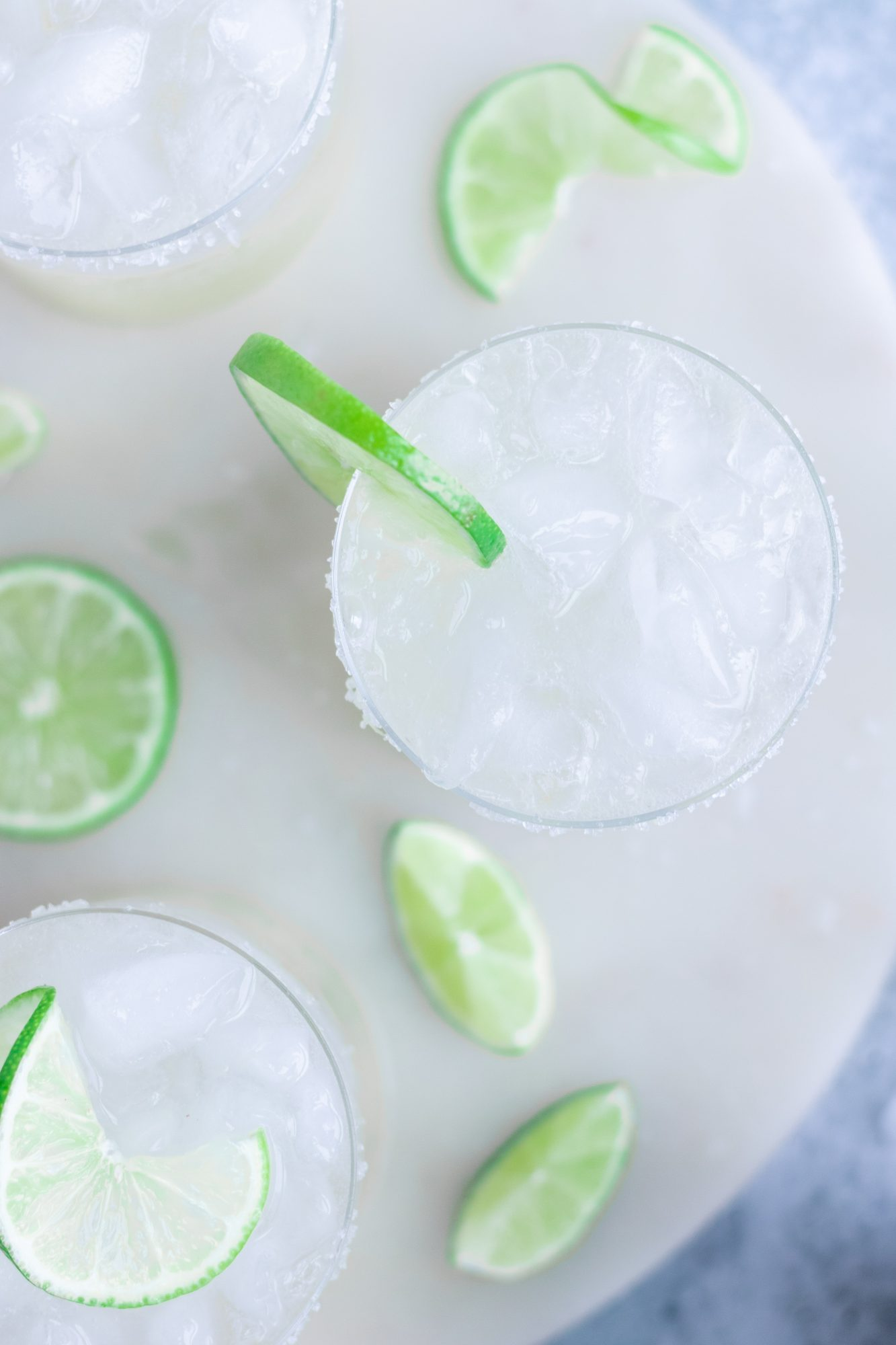 Refined Sugar-Free Margaritas