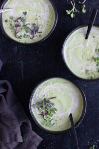 Creamy Vegan Paleo Broccoli Soup