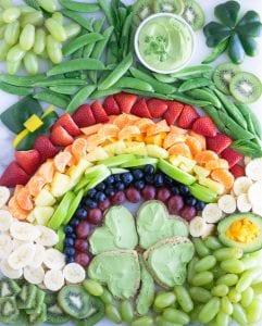 St. Patrick's Day Snack Board Vegan Gluten-Free
