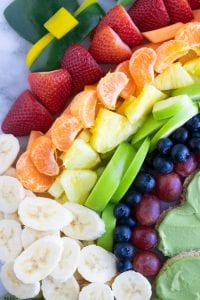 Leprechaun Rainbow Snack Board