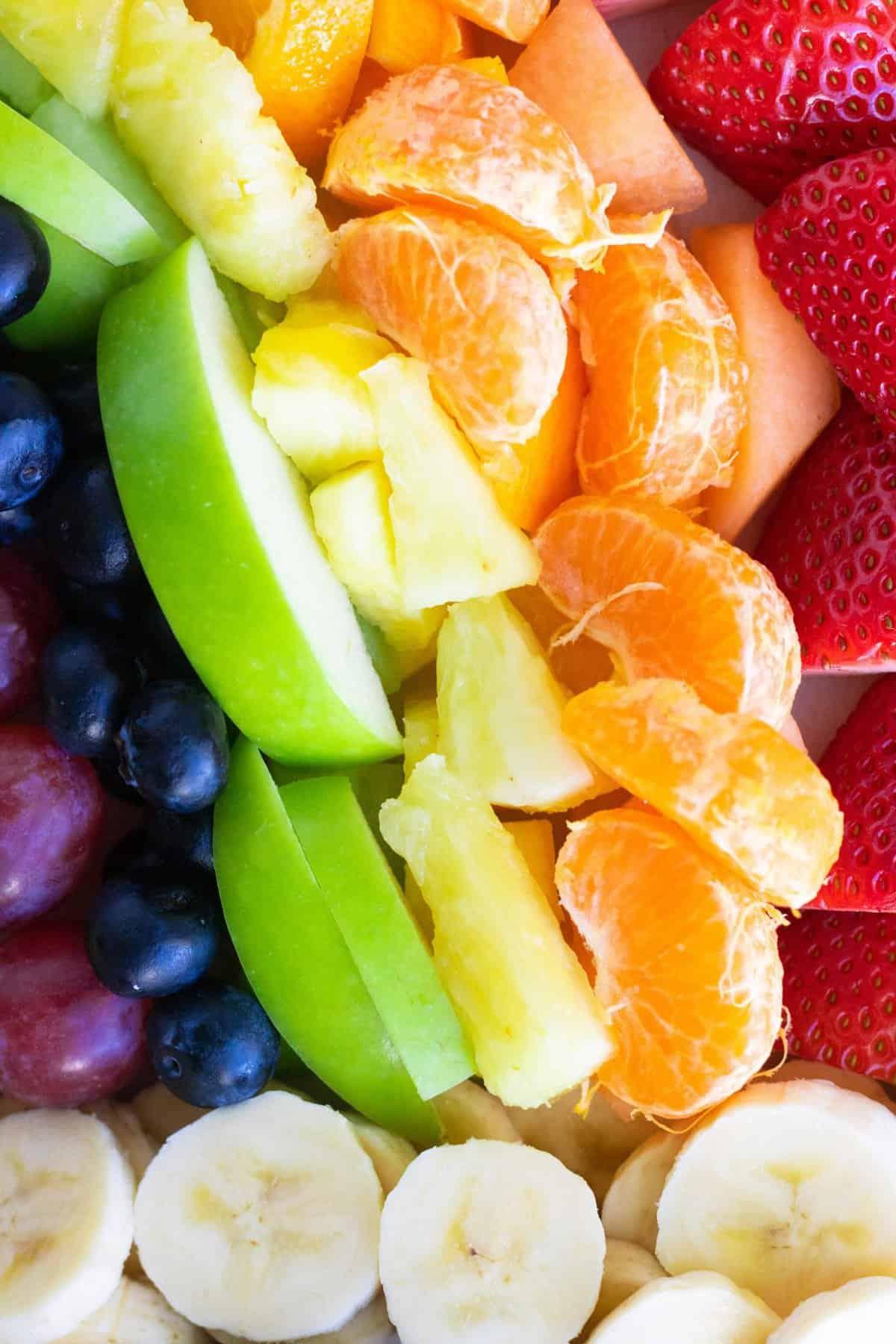 Taste the Rainbow Fruit Platter