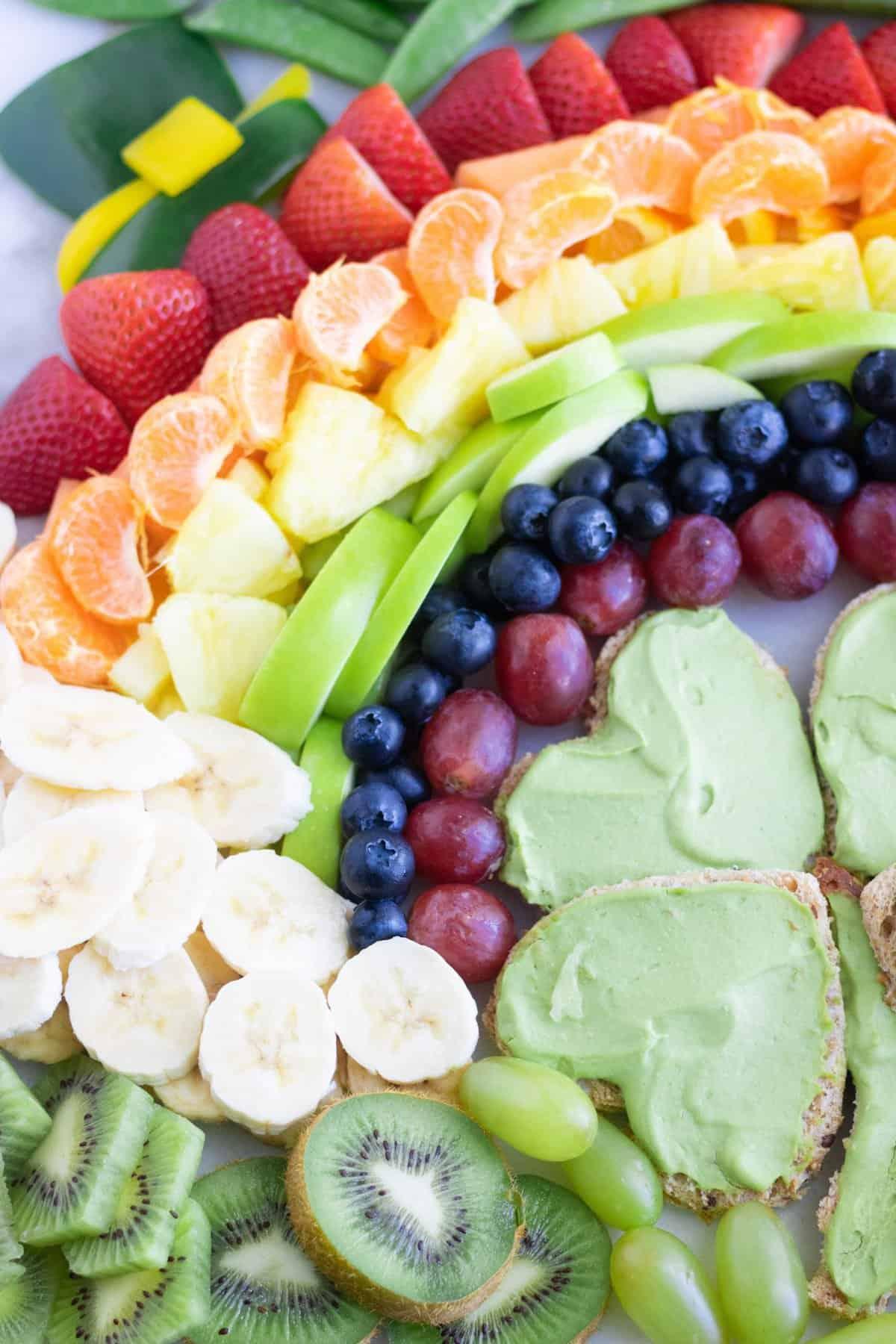 Vegan St. Patrick's Day Snack Board