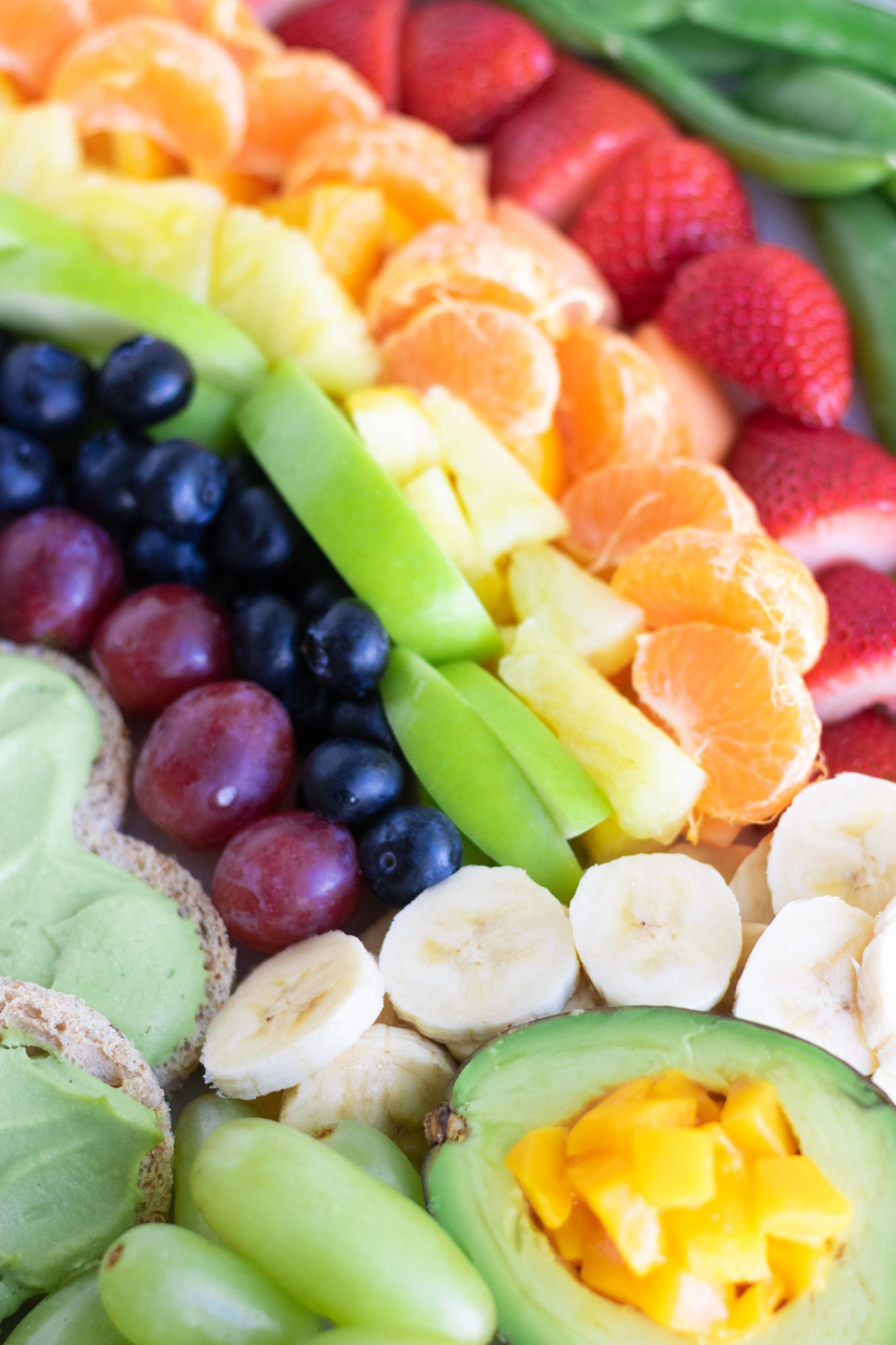 Rainbow Pot of Gold Fruit Platter