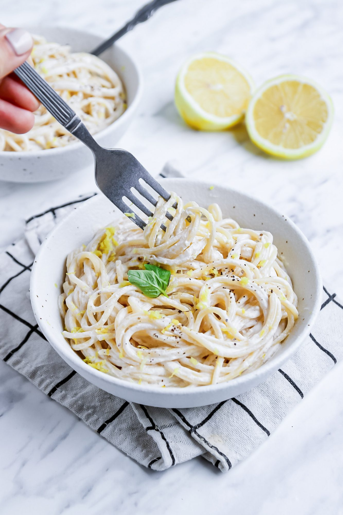 Quick Lemony Pasta Recipe