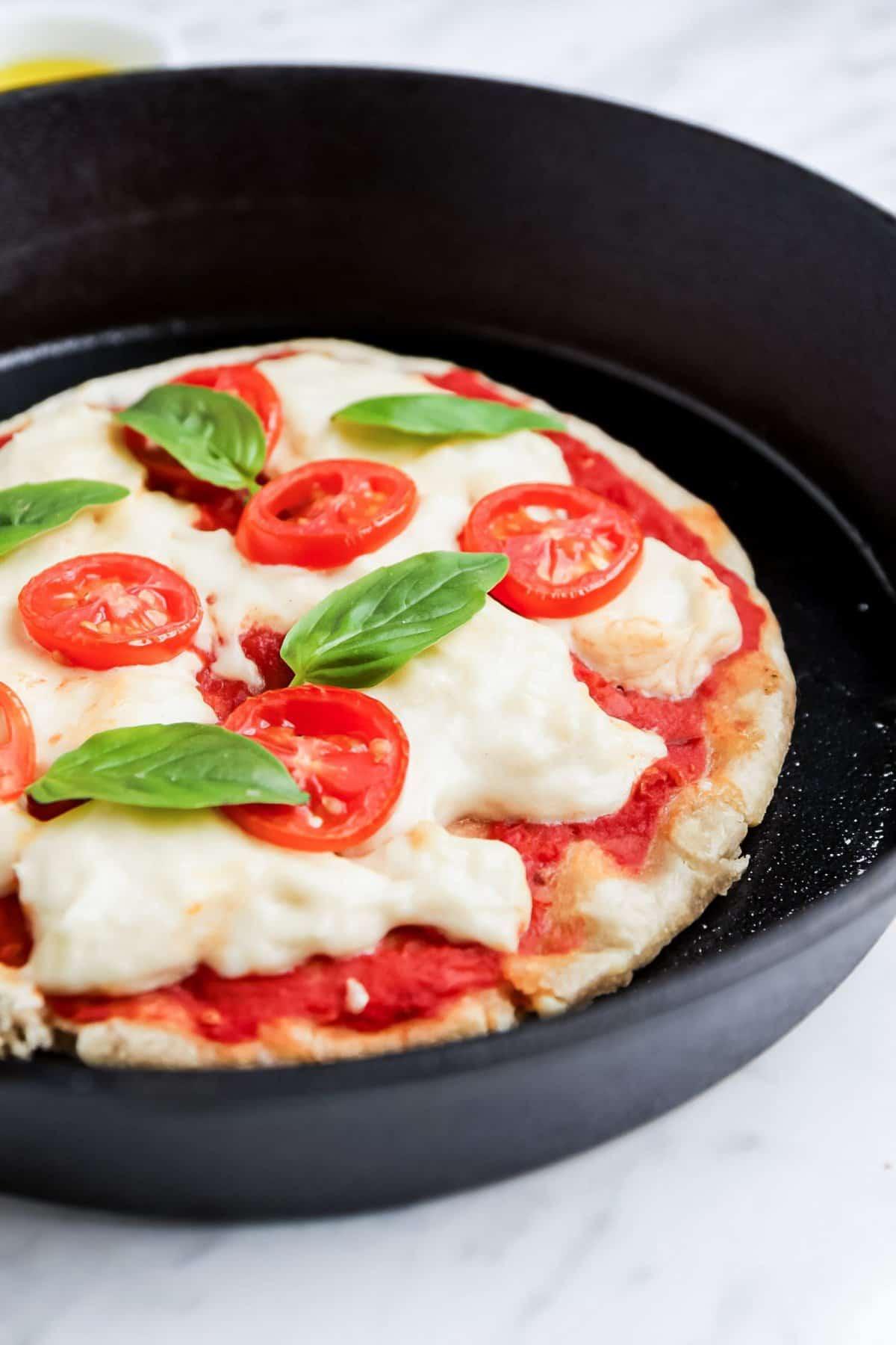 Vegan Pizza Mozzarella