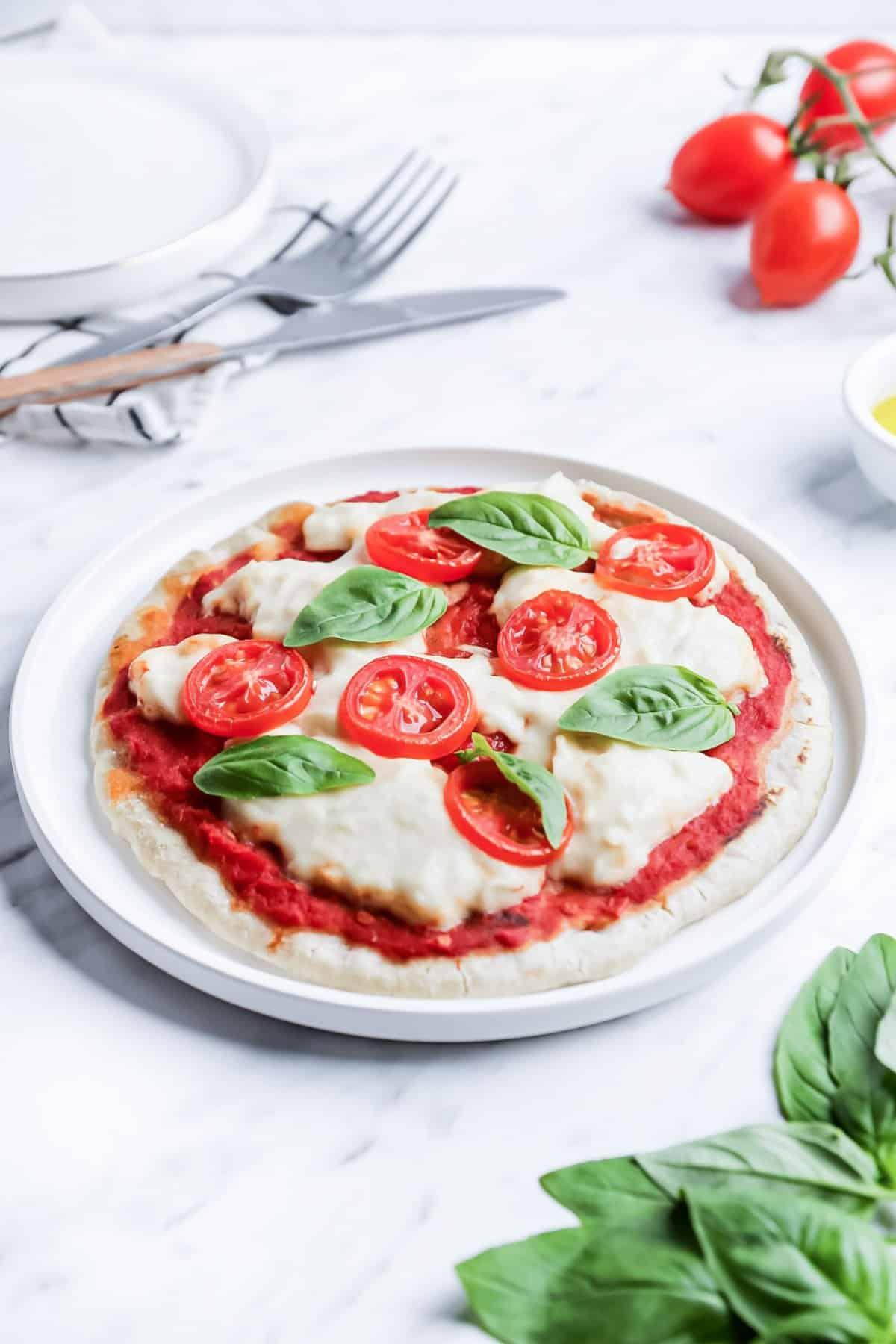 Homemade Vegan Pizza Crust