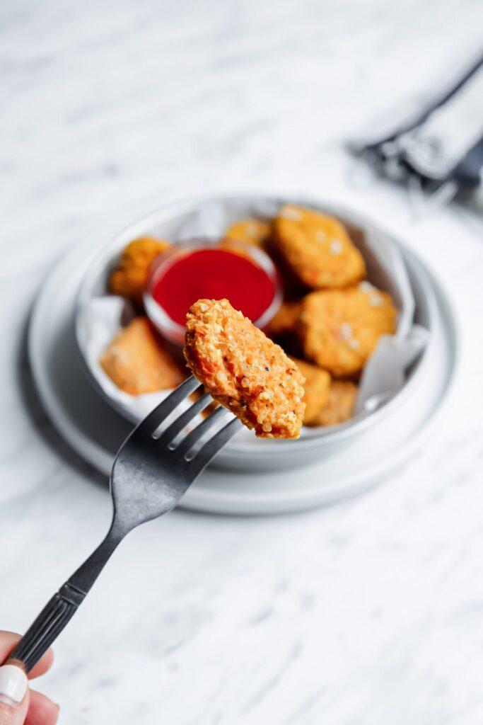 Sweet Potato Quinoa Tots
