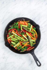 Vegan Gluten-Free Pasta Primavera