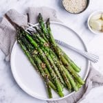 Quick Asparagus with Garlic