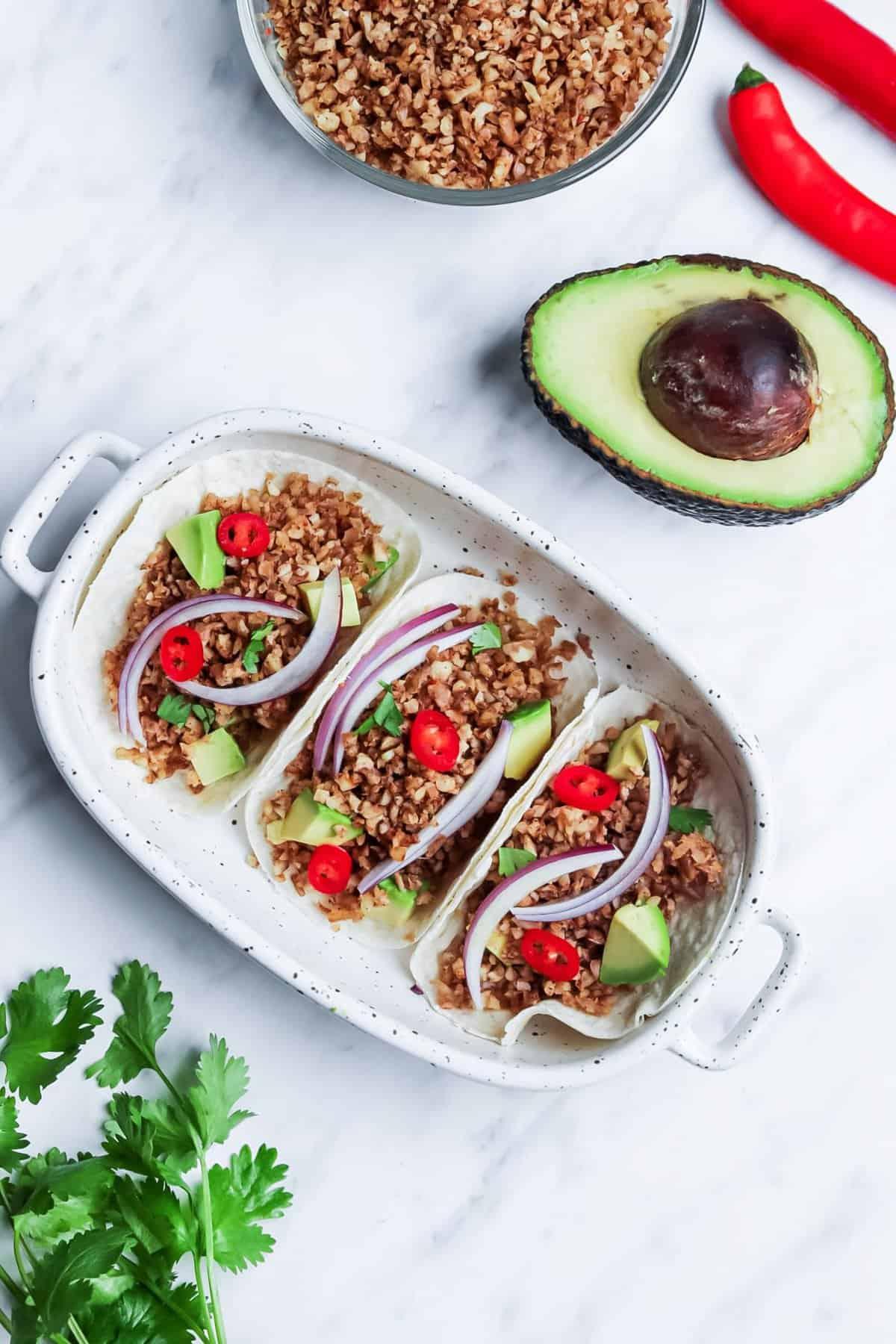 Vegan Taco Filling Recipe