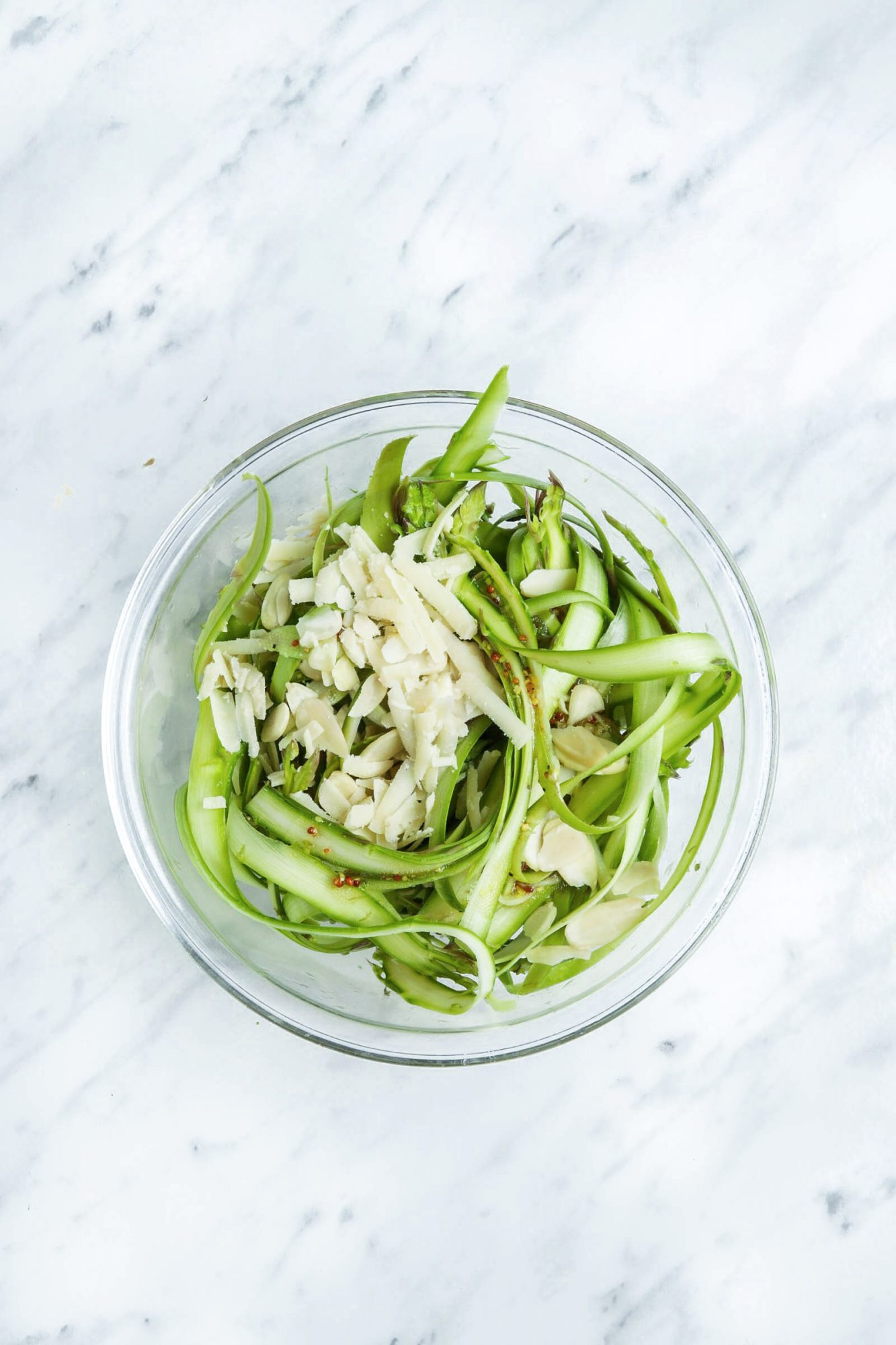 How to Make Shaved Asparagus Salad