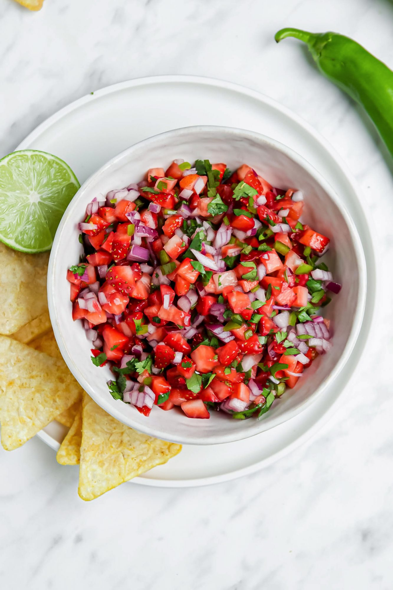 Fresh Strawberry Salsa