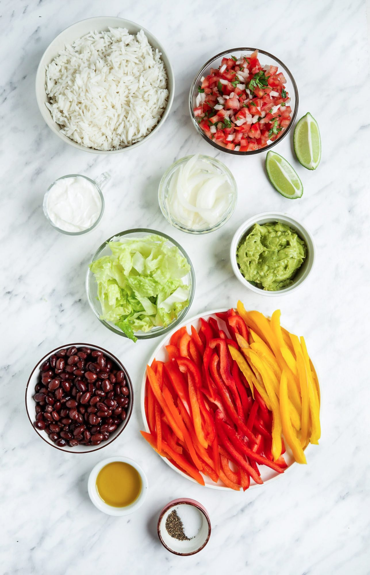 Burrito Bowl Ingredients